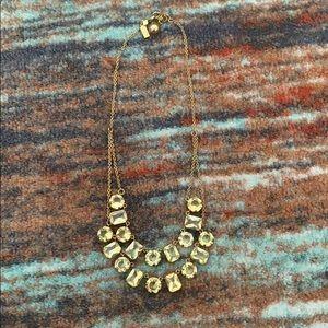 Kate Spade gemstone two strand necklace